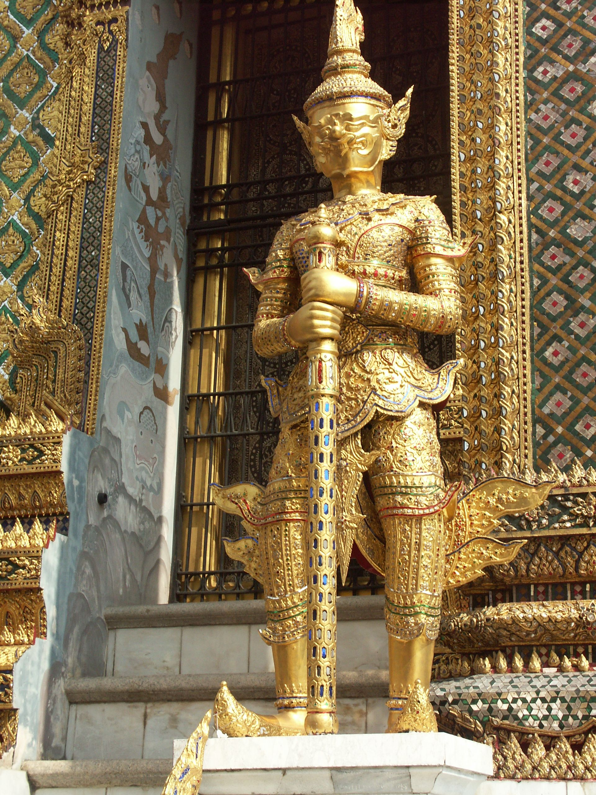 Bangkok Grand Pallace Thailland  photo by me