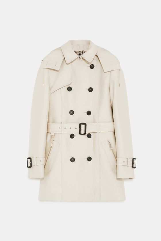 in 2018 2019 Hooded trench 2019FallWinter Trends WD2EH9IY