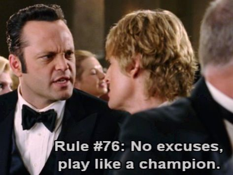 5 Excuses Wrestlers Need To Stop Using After A Loss Wedding Crashers Wedding Venues In Virginia Favorite Movie Quotes