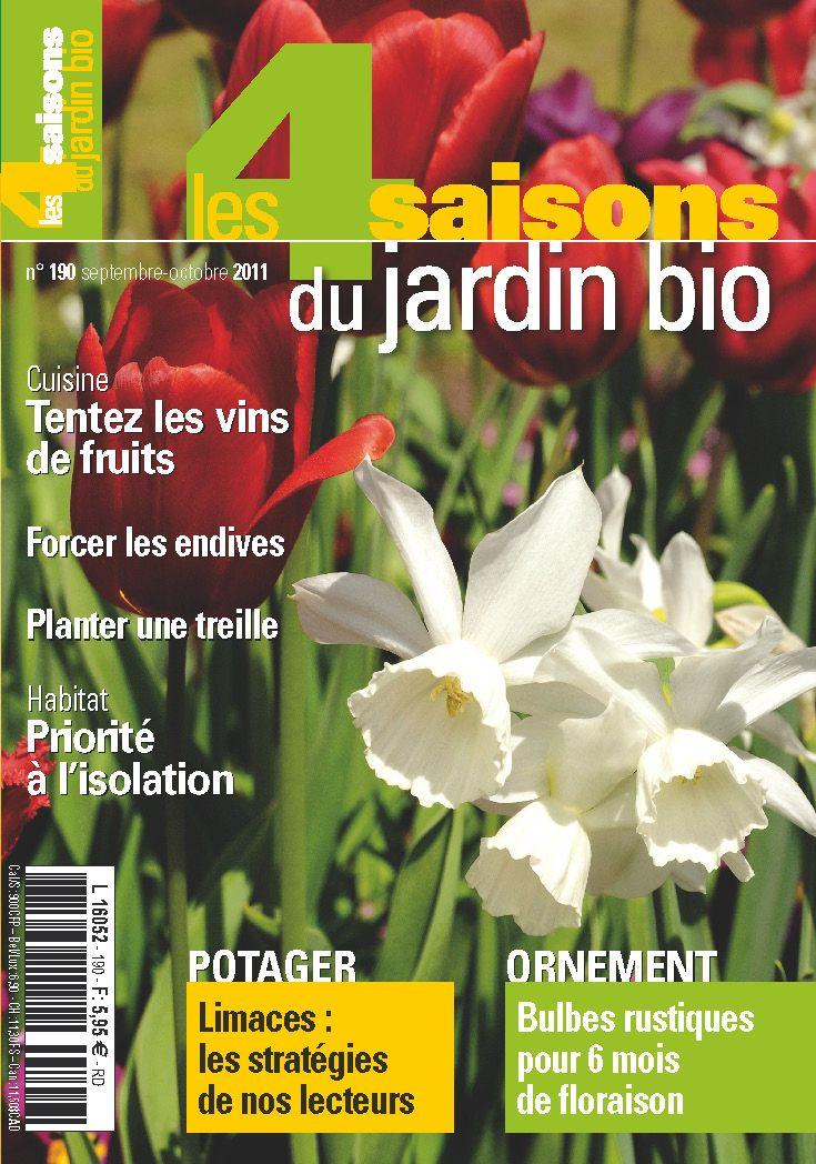 Les 4 Saisons Du Jardin Bio N 190 Septembre Octobre 2011