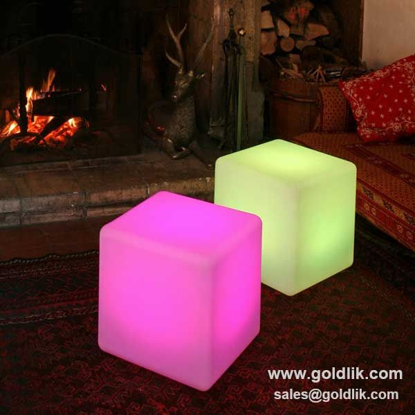 RGB Remote Control Led Cube,plastic Cube Stool,pls Contact Us For Price,