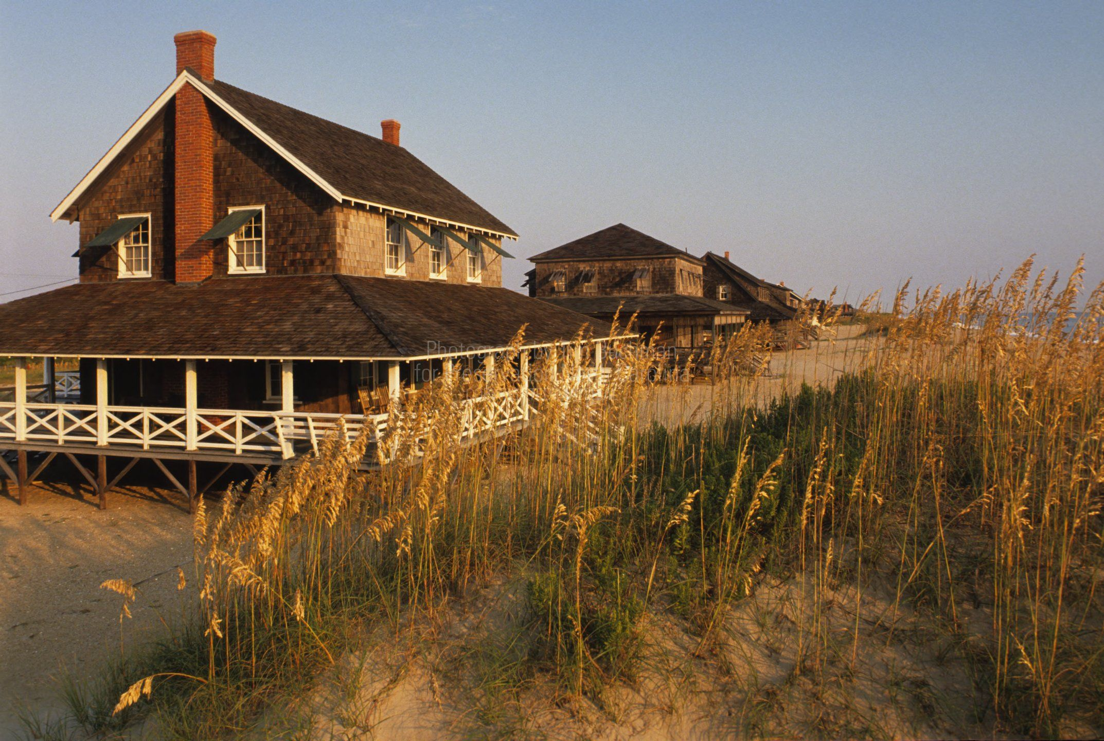 These old school Nags head beach cottages are so wonderful