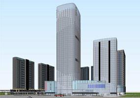 现代办公楼 现代住宅 现代公寓 现代商业综合体