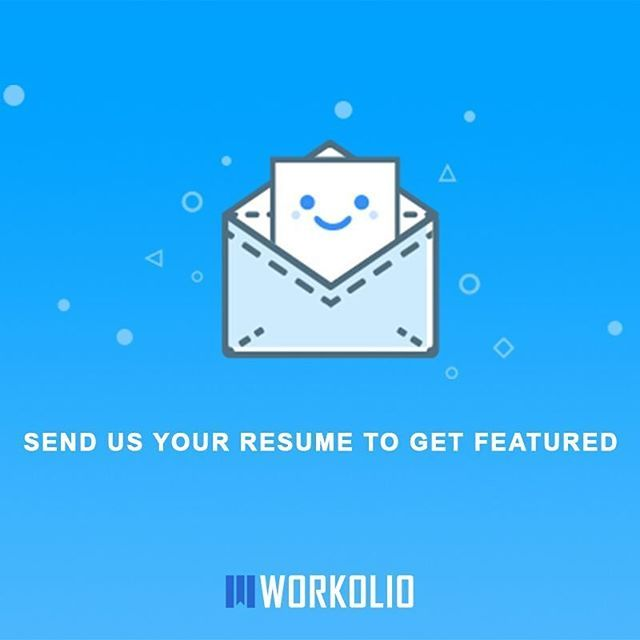 Send us your designs and we will featured them:) | Creative resumes ...