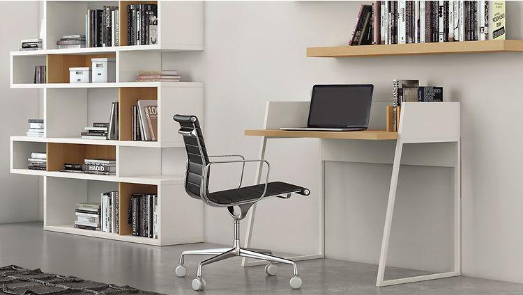 Kantoor Aan Huis : Een modern kantoor aan huis boekenkast kantoor aan