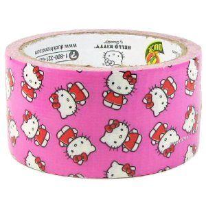 Hello Kitty! Hello Duct Tape!