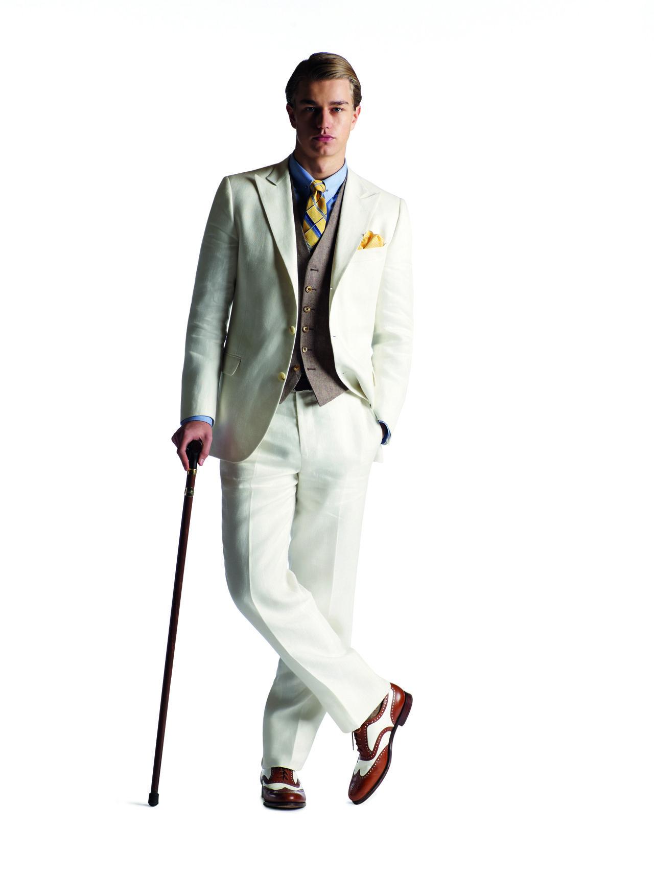 great gatsby fashion | Great Gatsby\' costumer Brooks Brothers ...