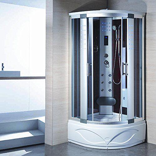 Bath Masters 8004 A Home Bathtub Spa Sauna Corner Steam Shower