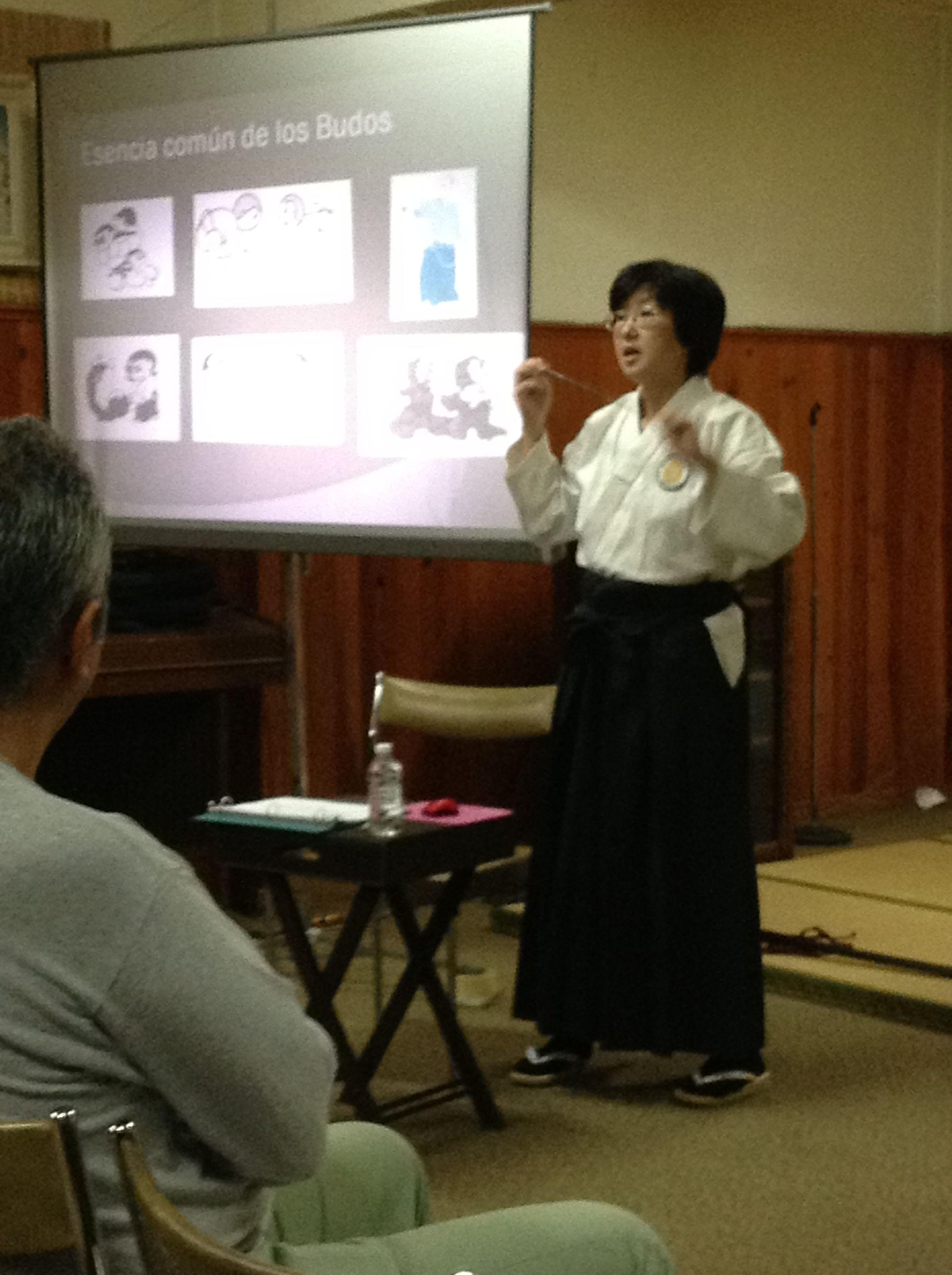 Conferencia de Sensei Tauchi sobre el aikido, 6 de junio de 2013
