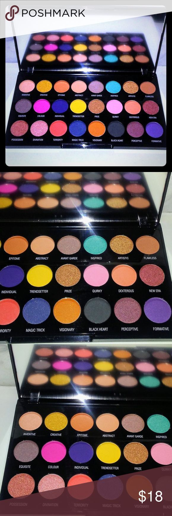 Makeup Revolution Creative Eyeshadow Palette This Is A Brand New