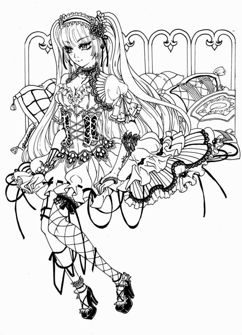 Gothic Coloring Pages Fairy Coloring Pages Fairy Coloring Angel Coloring Pages [ 1120 x 810 Pixel ]