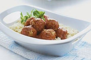 Mediterranean Meatballs with Couscous Recipe
