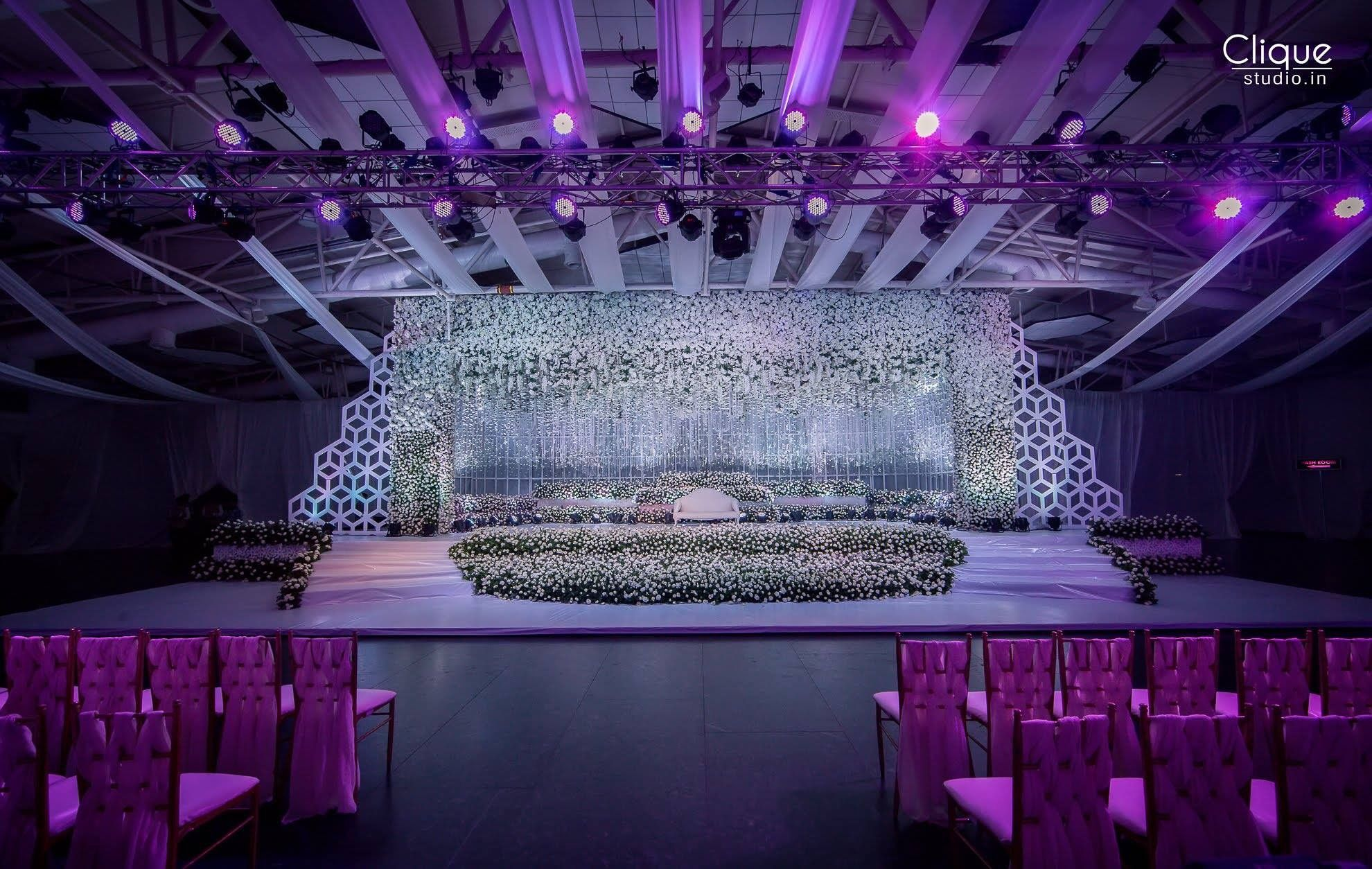 Wedding decorations stage backdrops october 2018 Pin by Sarayu Paspunuri on Wedding decors in   Pinterest