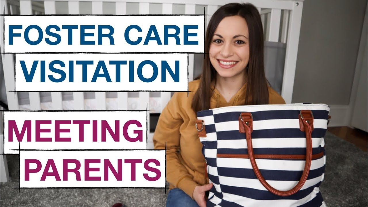 What's in my Foster Care Visitation Bag   Meeting Bio Parents Experience