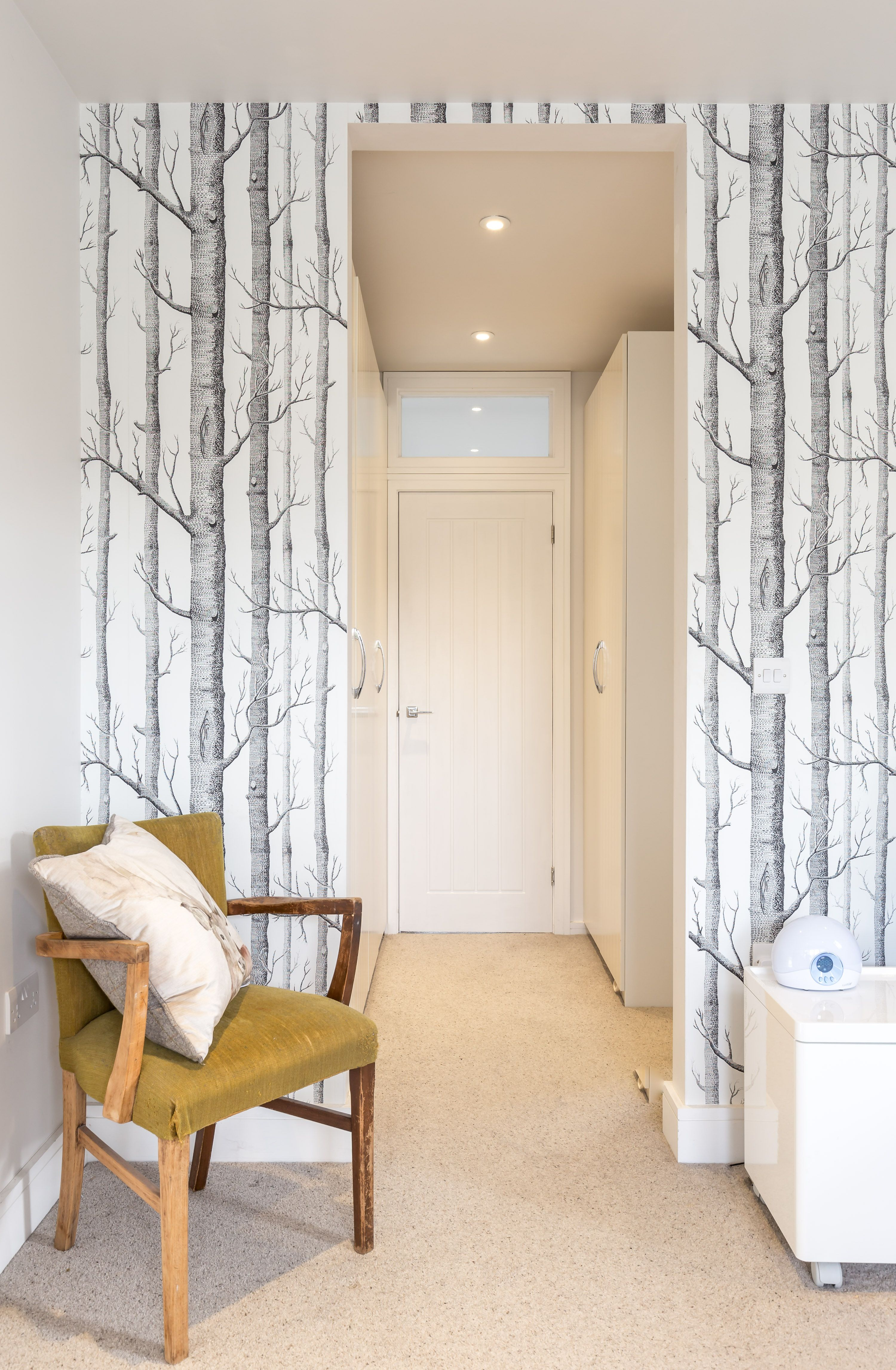 Master Bedroom Feature Wall Master Bedroom Feature Wall Paper Forest Illustration