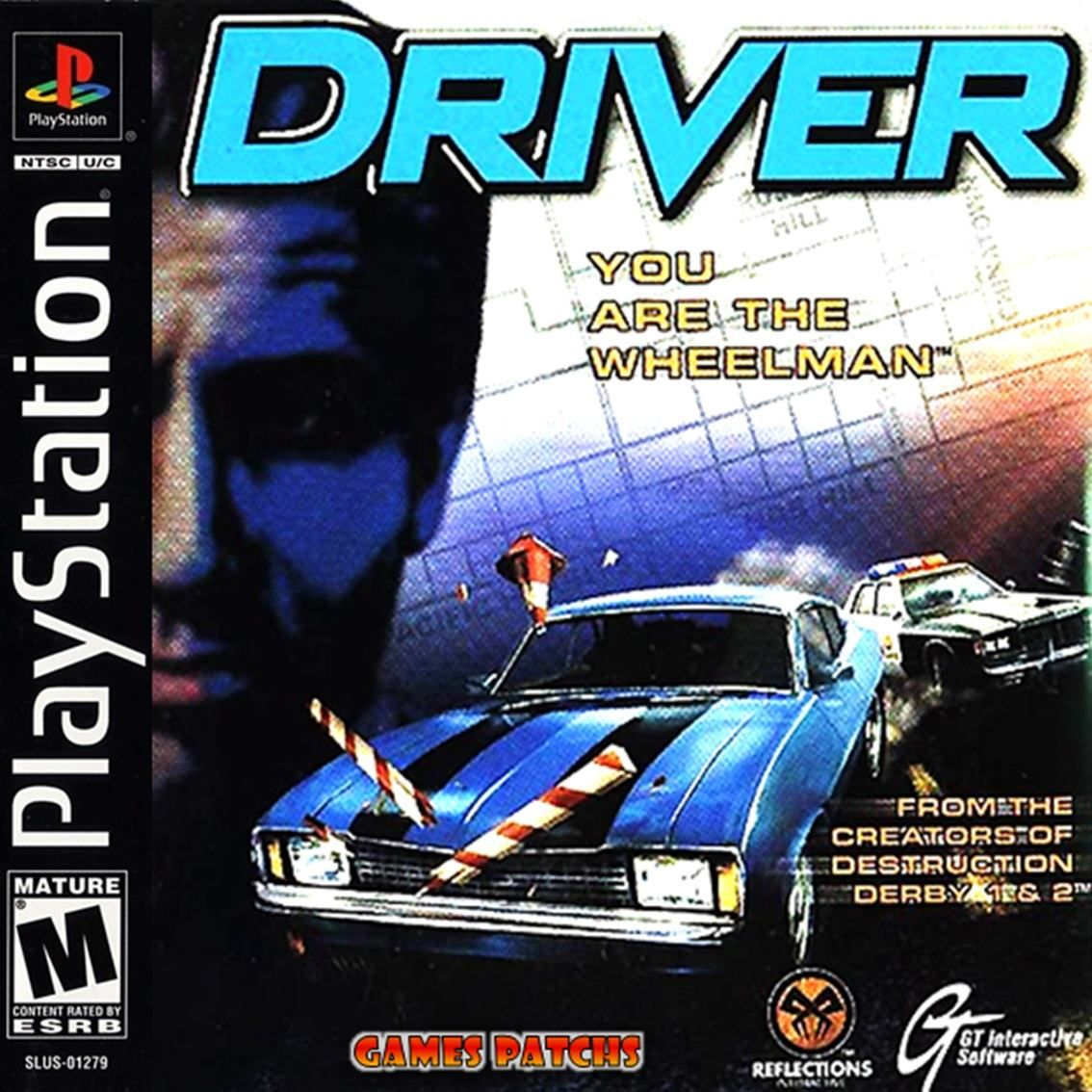 Driver - You Are the Wheelman ROM (ISO) Download for Sony ...