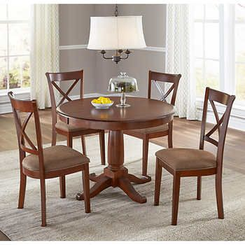 Juno 5Piece Dining Set  Home Furnishings  Pinterest  Dining Impressive Dining Room Sets Costco Decorating Design