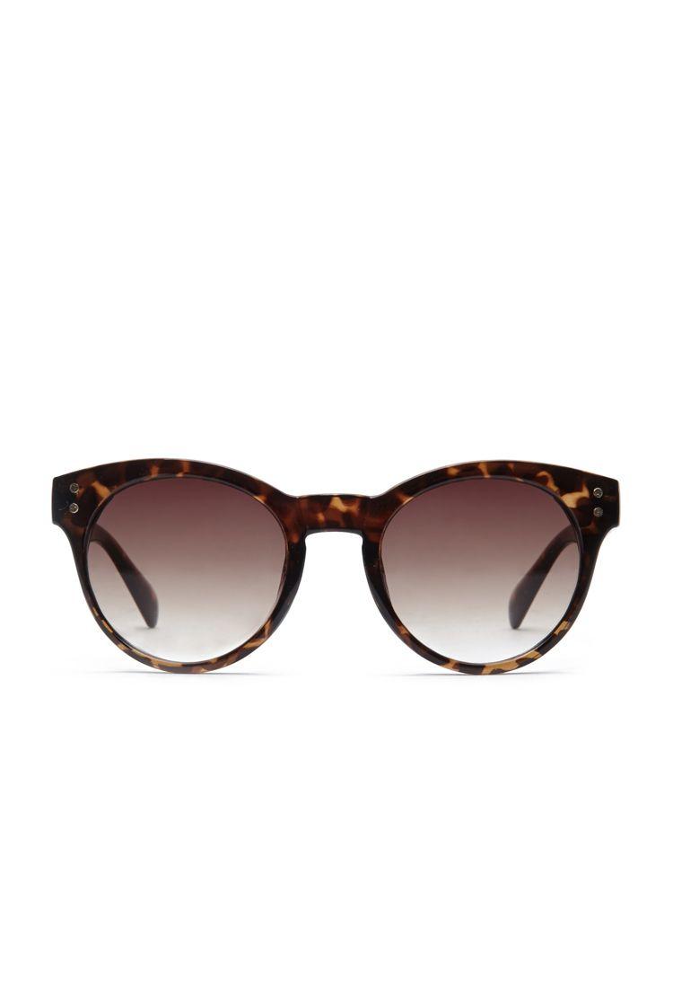 Oversized Round Sunglasses | FOREVER21 - 1049258888
