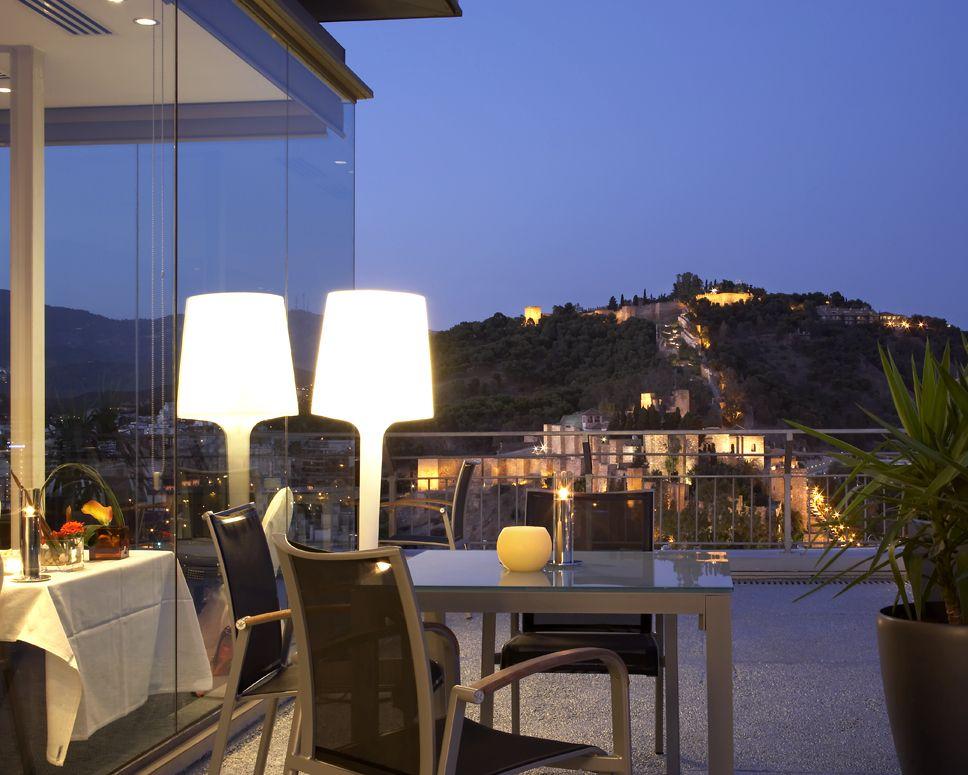 Vistas desde la terraza m laga ac hotel m laga - Diseno de interiores malaga ...