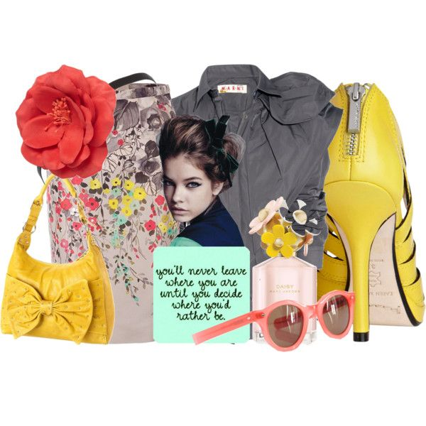 .. decide .., created by #mamajess on #polyvore. #fashion #style #Marni #Valentino