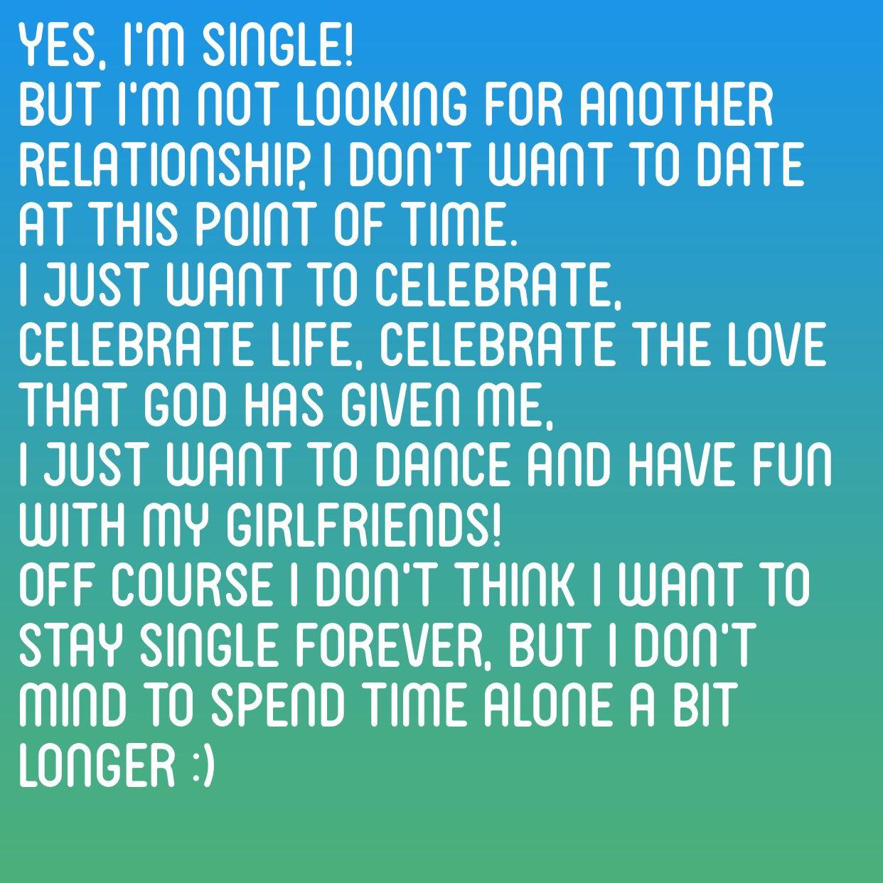 And Single I It Am I Love