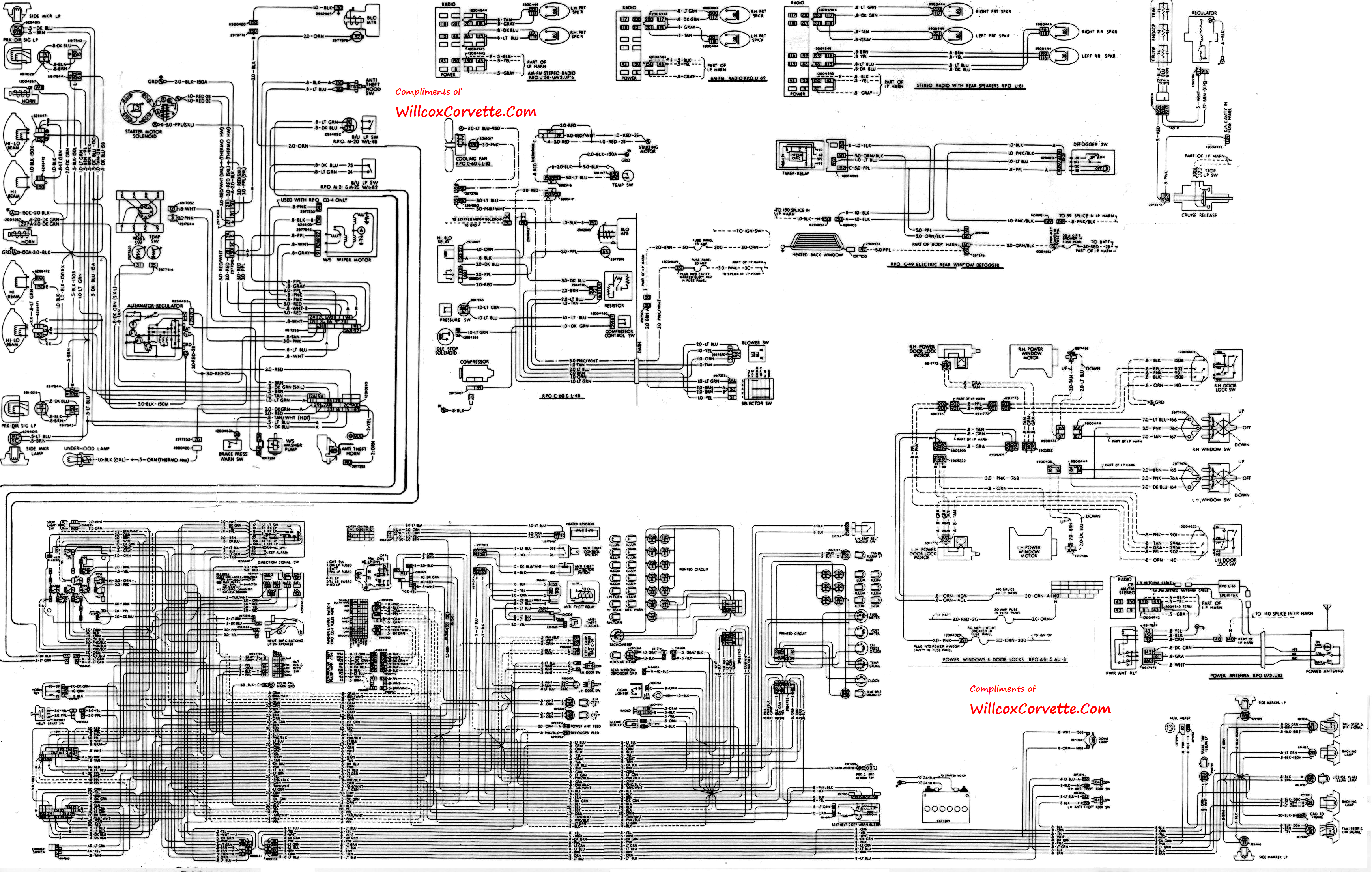 1977 corvette starter wiring diagram compare and contrast template 1978 ac somurich