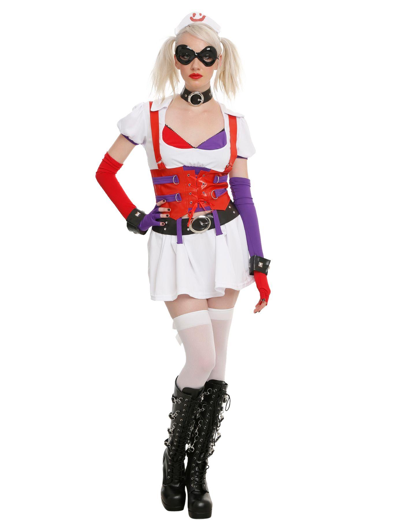 DC Comics Harley Quinn Eye Mask and Headpiece Costume Kit