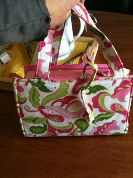How to make a fabric book cover with handles