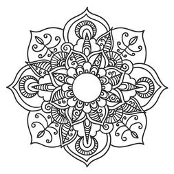Mandala Floral 12