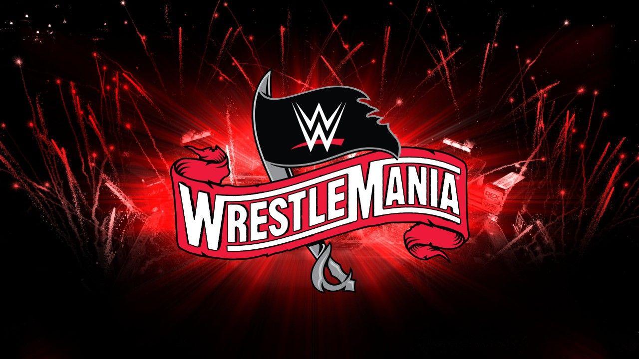 Wrestlemania 36 Logo April 5, 2020 Tampa Bay Wwe royal