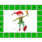 Your students will love practicing letter recognition with this fun game!  Simply have children match the letters on the game board with letter til...