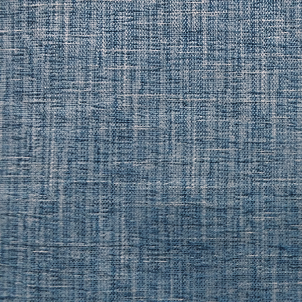 R Edward Caribe Solid Blue Linen Look Upholstery Fabric Swatch    SW55280 Swatch | Discount By The Yard | Fashion Fabrics