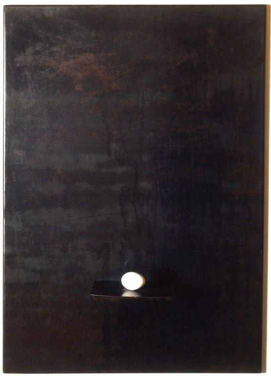 Mensole Arte Povera.Jannis Kounellis Senza Titolo 1968 Ripiano In Acciaio