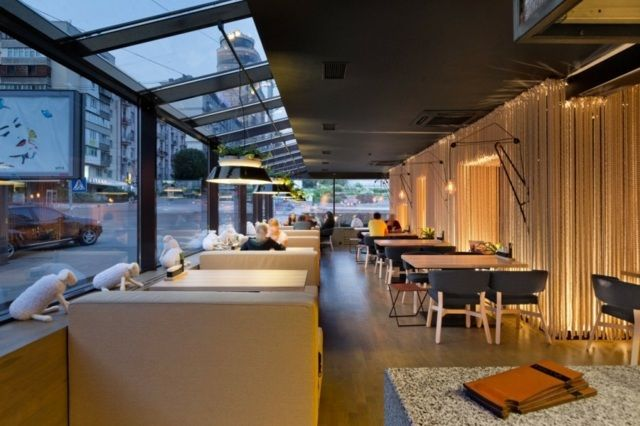 Un restaurant original à Odessa par YOD Design Lab