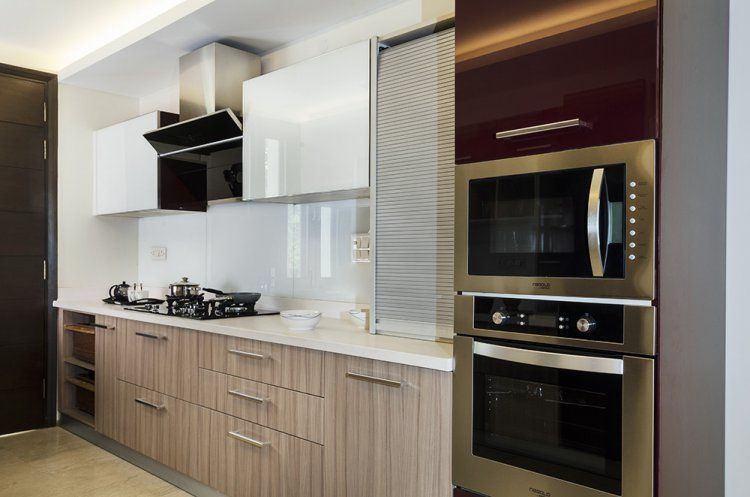 Beautiful Plexiglass Kitchen Cabinet Doors