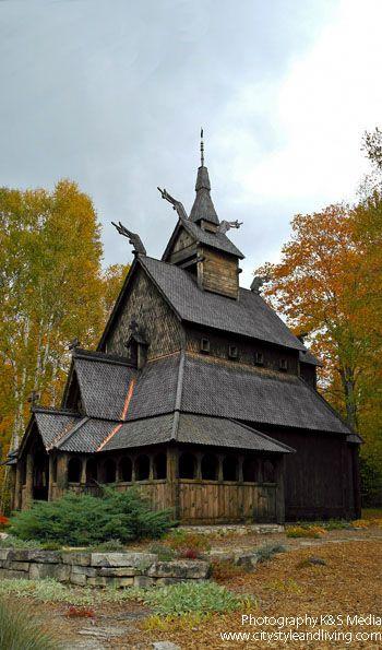 The Washington Island Stavkirke A Church Modeled After