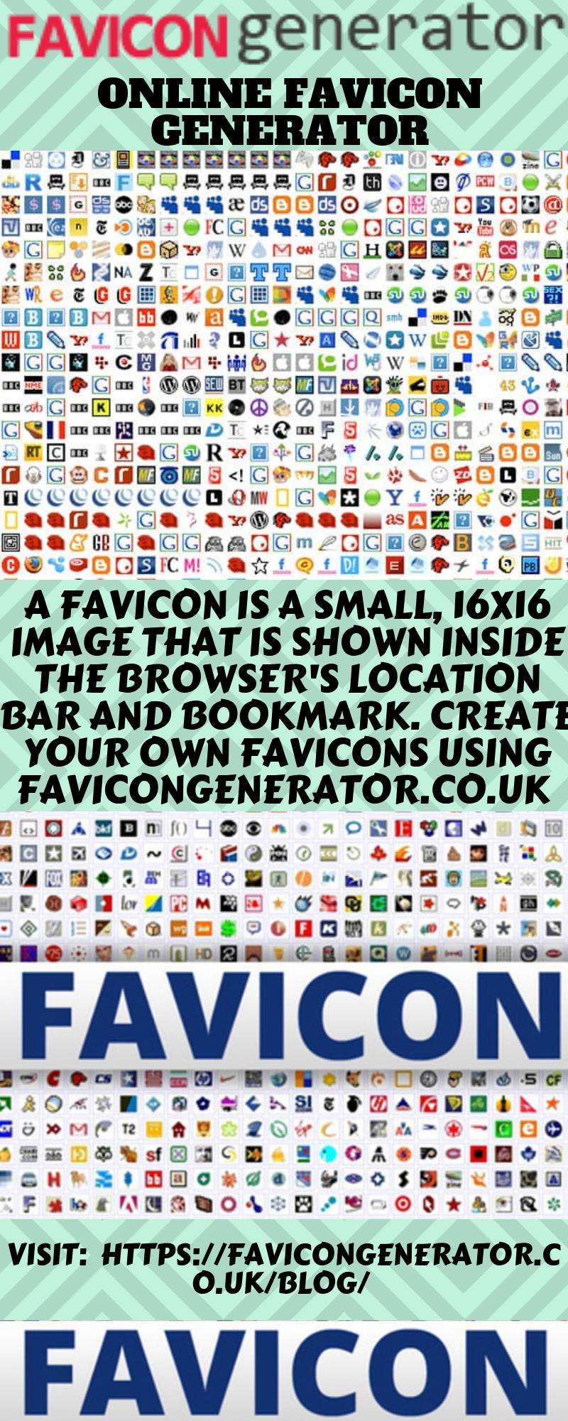 Online Favicon Generator Generation Browser Icon Online