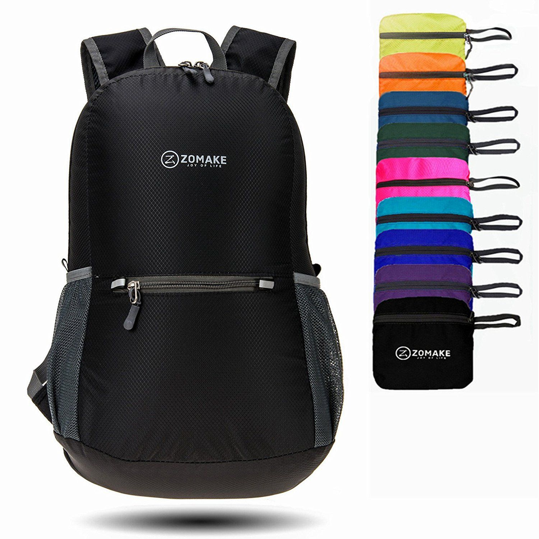 ZOMAKE Waterproof Ultra Lightweight Packable Backpack Hiking Daypack ... 020df495d1dfd