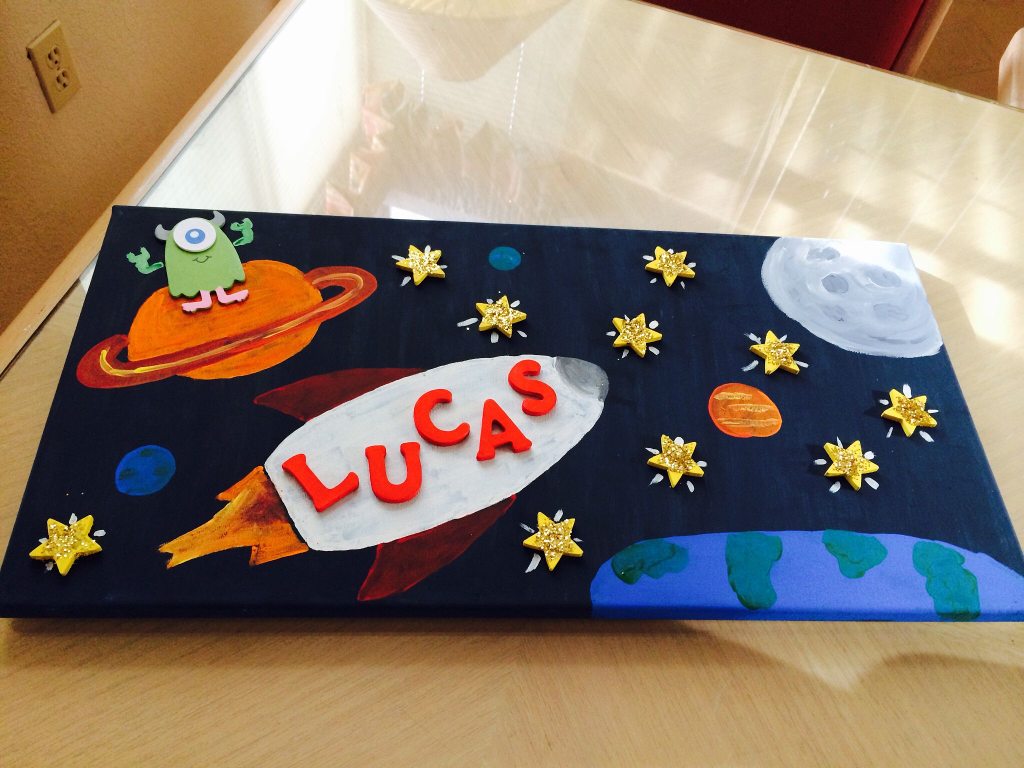 Artwork for outer space themed baby shower outerspace for Outer space gifts