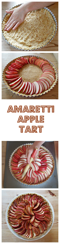 Amaretti apple tart dessert recipes tarts and apples amaretti apple tart sisterspd
