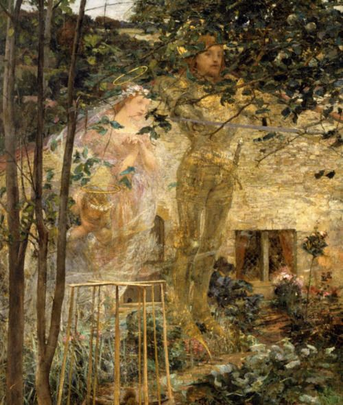 an analysis of jules bastien lepages painting joan of arc Bastien-lepage's painting, like joan's voices, has some kind of mysterious force which is whispering to ms bashkirtseff, and also to us i think the first aspect that really started the church bells ringing was the tapestry-like effect borrowed from the impressionists, mainly the foreground and background containing the underbrush and timber.