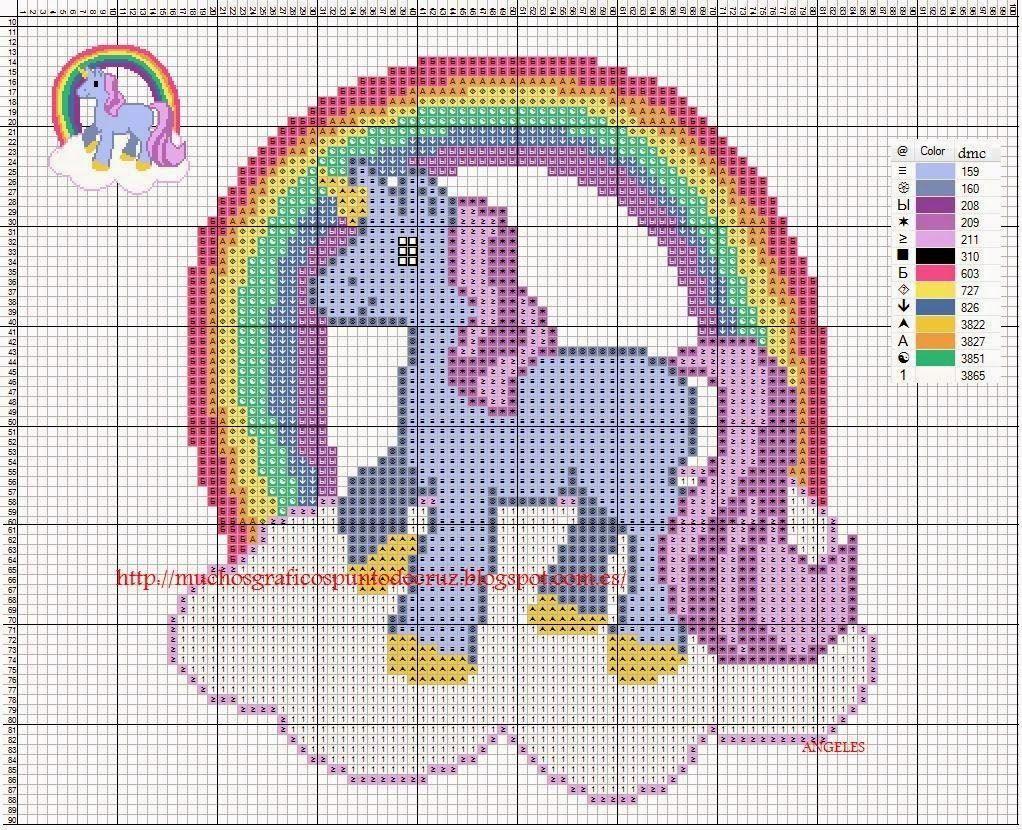 Graficos Punto De Cruz Gratis Unicornio Graficos Punto De Cruz Punto De Cruz Gratis Punto De Cruz