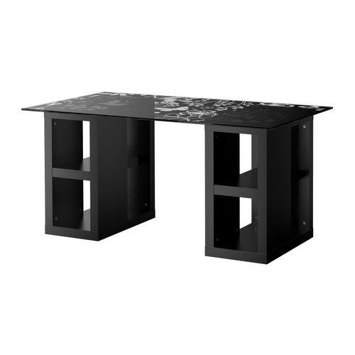 Vika glasholm vika annefors table floral patterned for Ikea article number