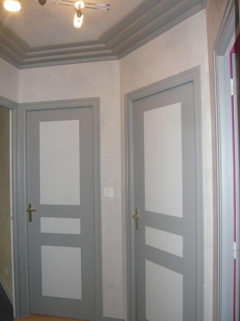 Epingle Par Barbier Aline Sur Porte D Entree En 2020 Peinture De Portes Interieures Mobilier De Salon Peinture Porte