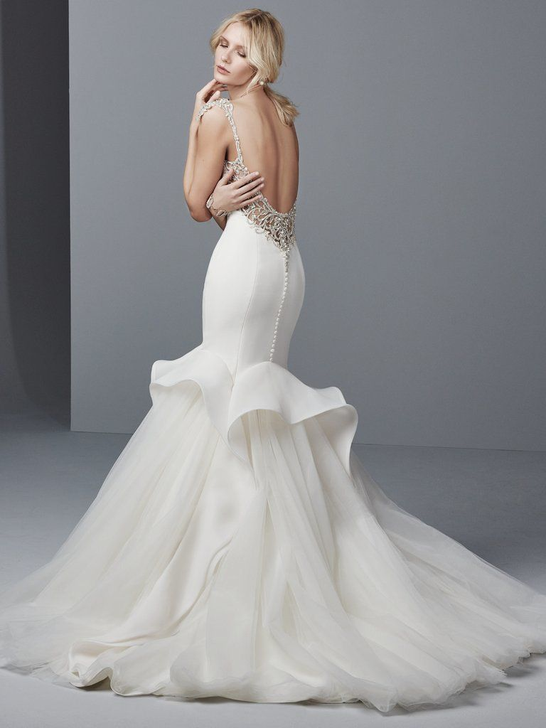 gowns that prove plunging backs are the