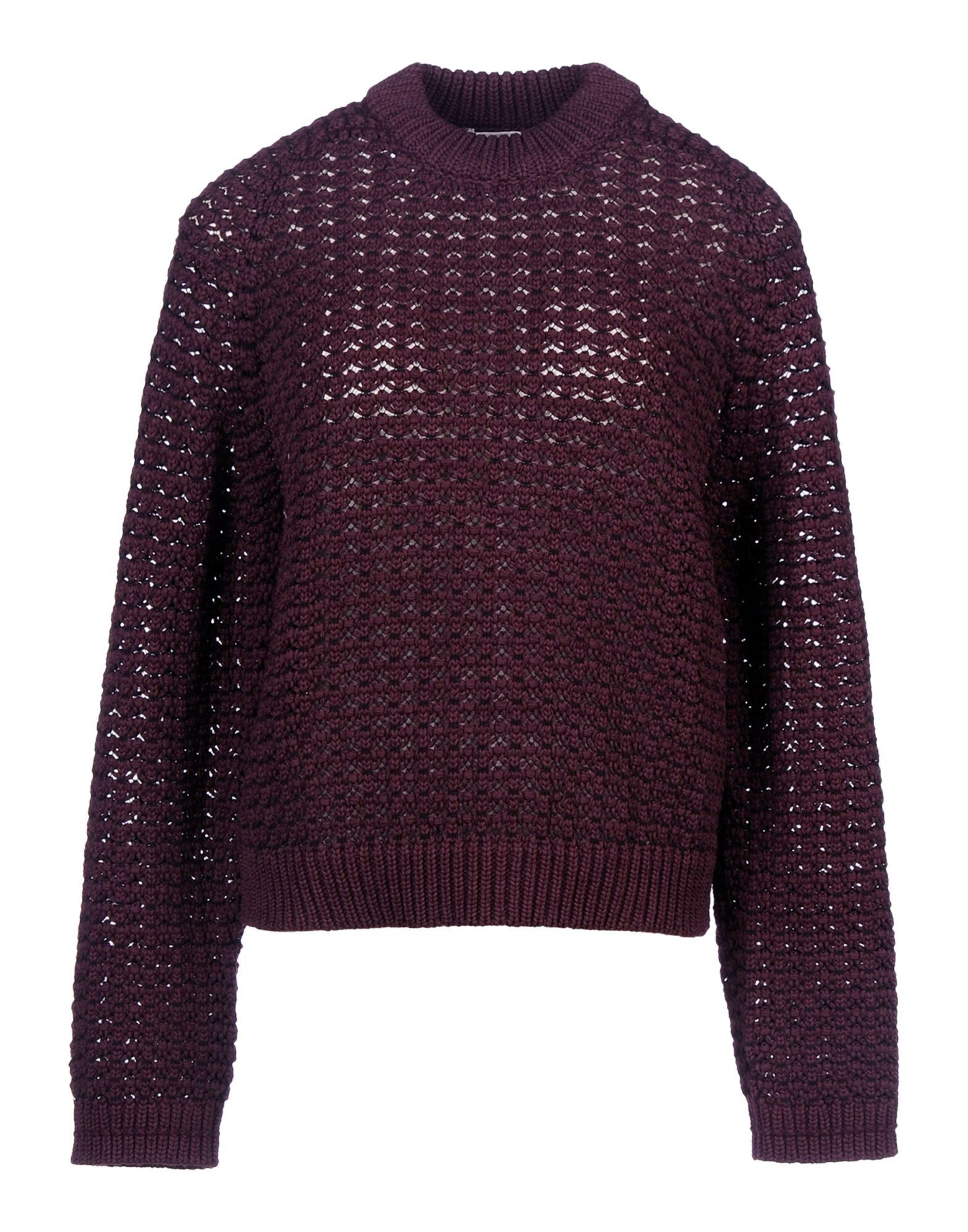 3.1 Phillip Lim: Burgundy Open-Knit Sweater | Knits | Pinterest ...