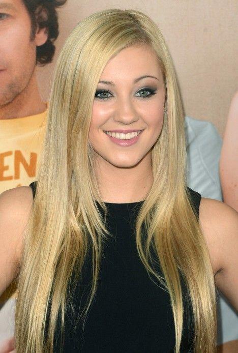 Blond Gerade Lang Frisuren Stufige Haare Haarschnitt Lange
