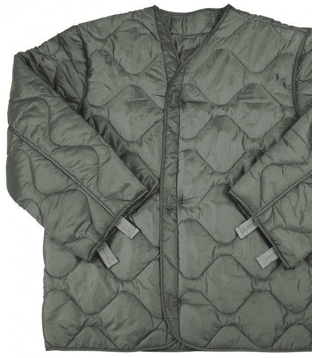Army surplus quilted jacket