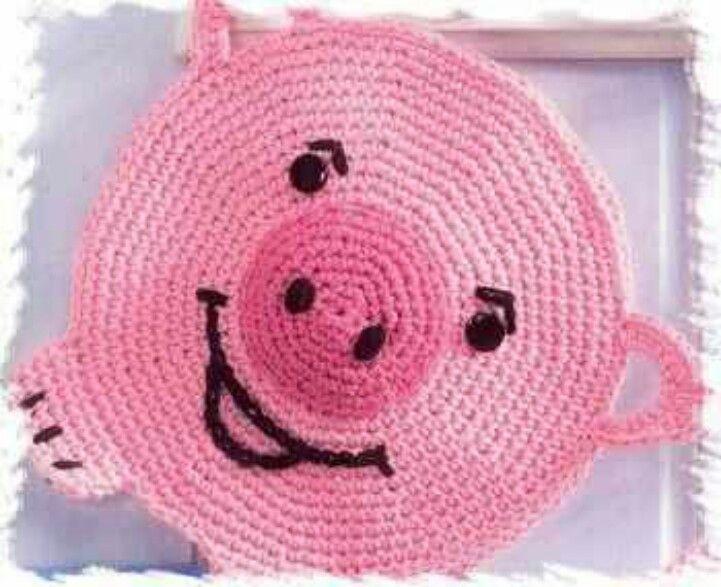 Pin von Laura Lugo auf Crochet | Pinterest | Topflappen, Häkelmuster ...