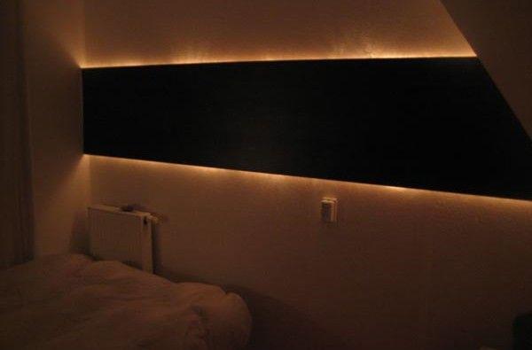 Creative and Affordable Indirect Wall Lighting DiY Project Share - küche fliesenspiegel verkleiden